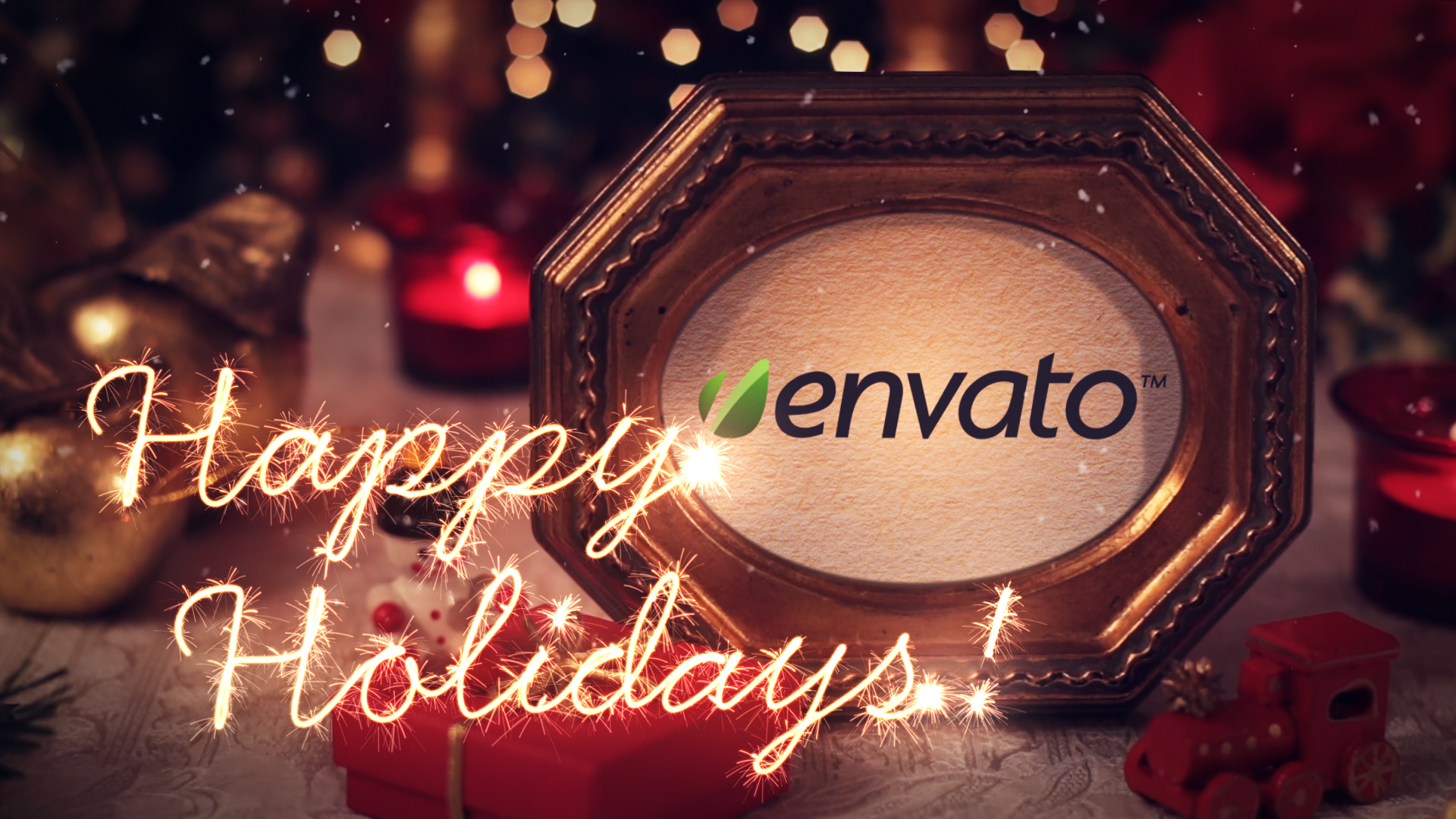 Christmas Greetings Izen Designs Motion Graphics Video After